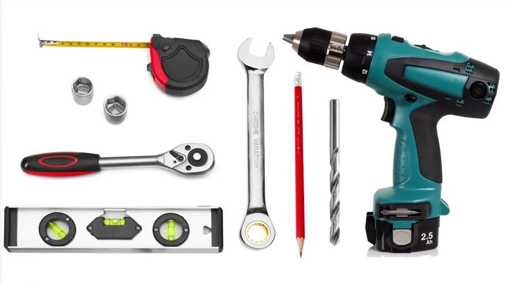 Инструменты для установки снегозадержателя