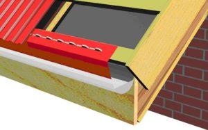 Планка на крышу из профнастила