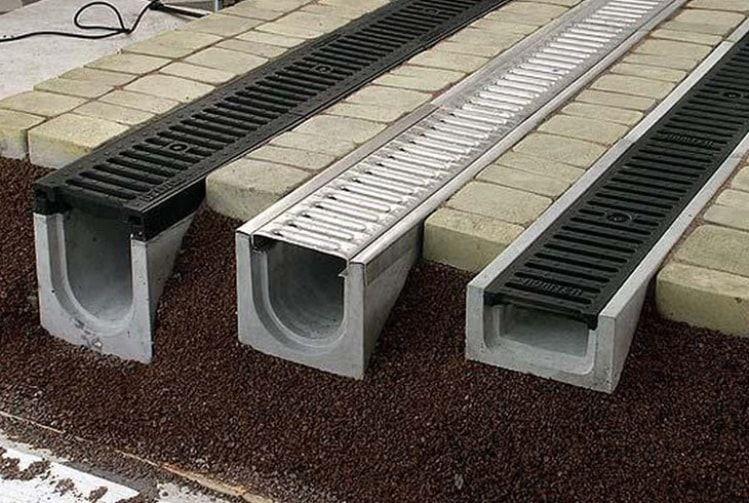 Классификация дренажных решеток