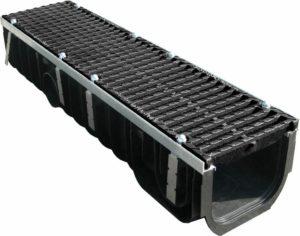 Пластиковая дренажная решетка