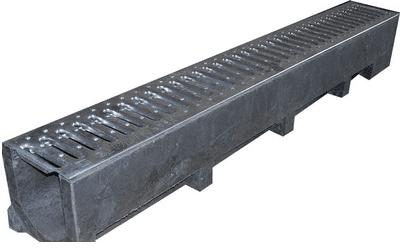 Металлический дренажный лоток